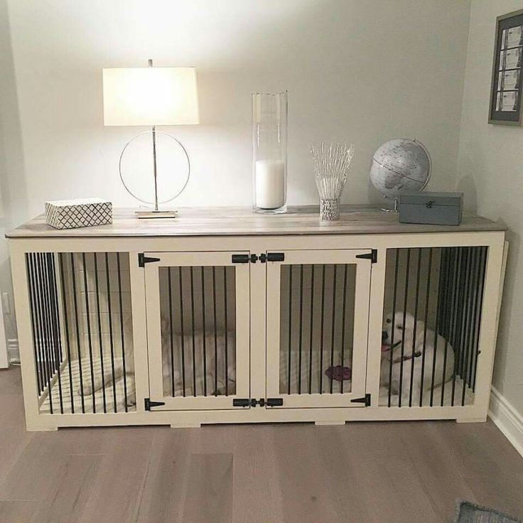 If we ever do get a dog, this is the way to have a crate