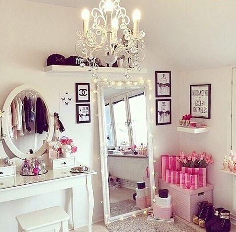 WEBSTA @ me.design.interior - Комната-мечта для девушки