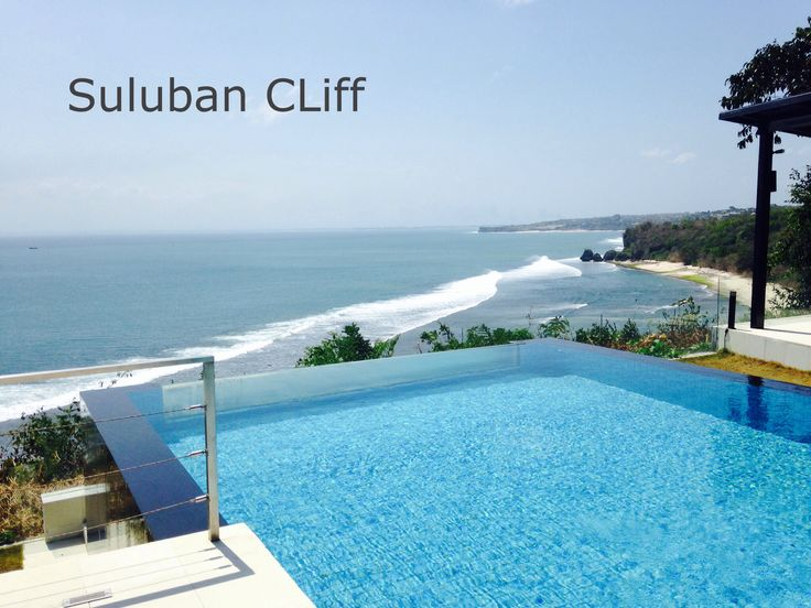 Suluban Cliff Bali Villa Infinity Pool at ocean edge. Cliff top.  www.sulubancliffbali.com