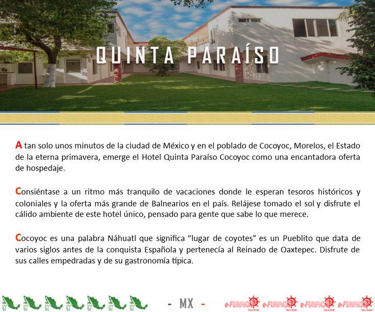 COCOYOC - Quinta Paraíso
