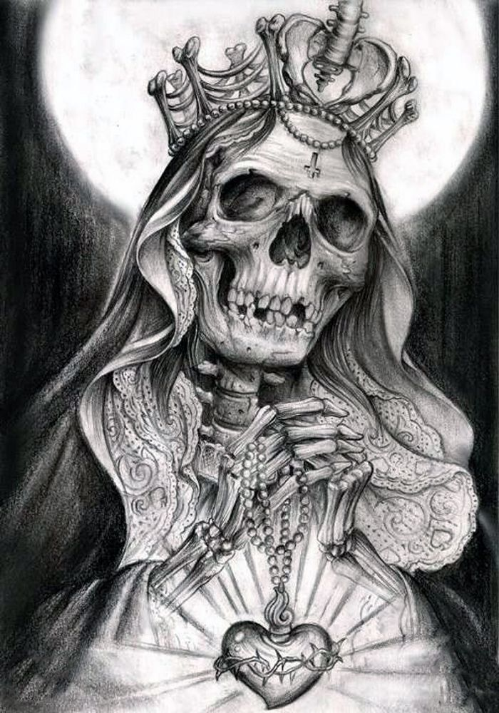 Santisima Muerte Most Holy Death                                                                                                                                                                                 Mehr
