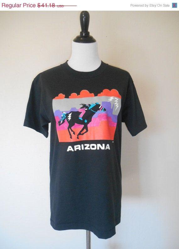 Vintage clothing SALE Vintage 80s 90s   ARIZONA      horse       Native American Indian   southwestern