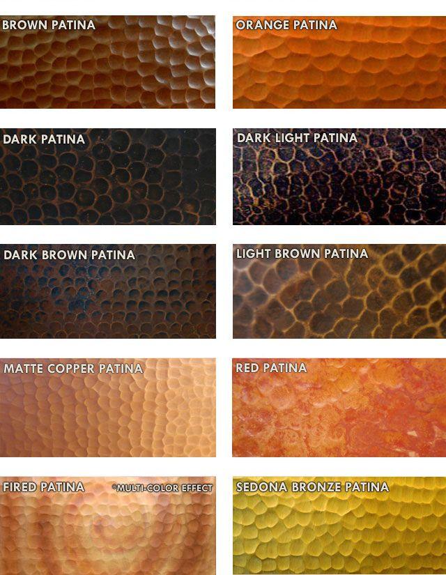 Copper Farmhouse Sink - Brick Design Apron, 33x22x9 - RTS_CF-BR-3322