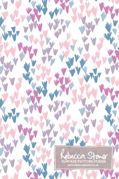 Confetti Floral  by Rebecca Stoner www.rebeccastoner.co.uk