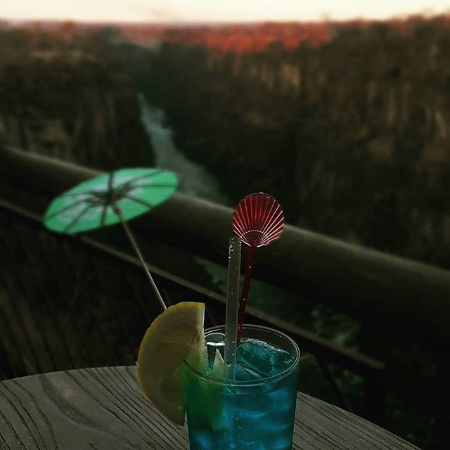 Another delicious reason to try the #cocktails at the Lookout Café #VictoriaFalls  #whyilovevictoriafalls  #wildhorizons