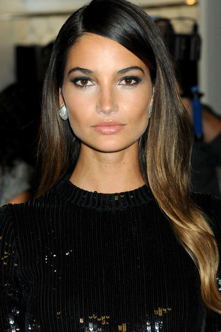 Lilly Aldridge Ombre Hair
