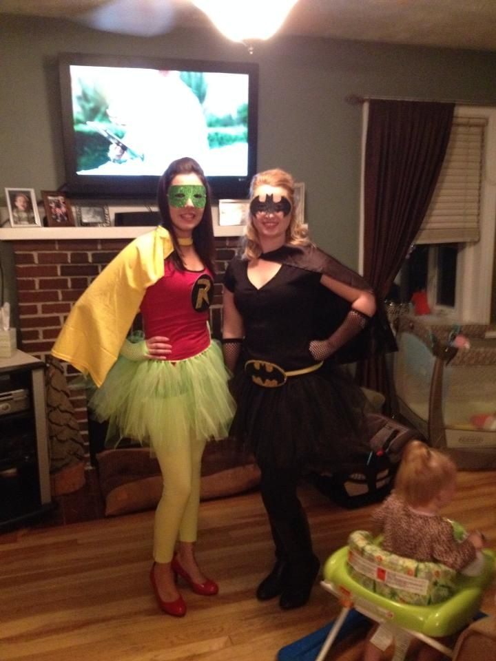 DIY Batman and Robin costumes. Home made Tutus and dollar store glitter paper  sc 1 st  Pinterest & 96 best DIY Fancy Dress images on Pinterest | Carnivals Costume ...