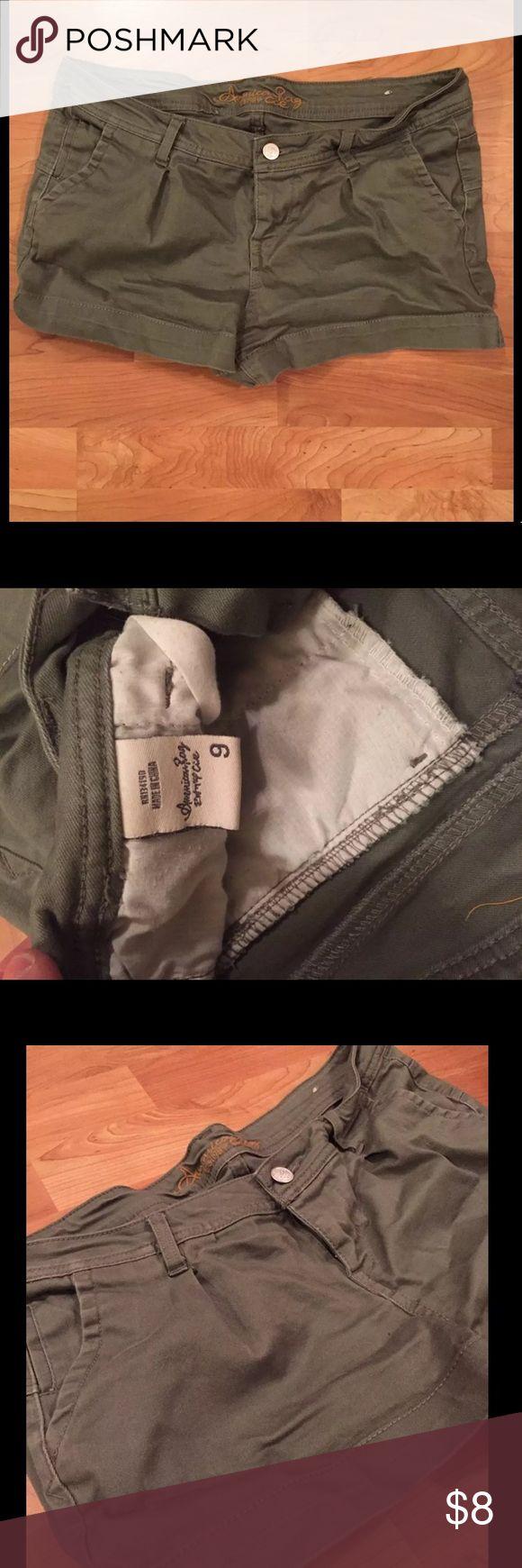 American Rag Army Green Shorts American Rag Army Green Shorts Purchased from Macy's  Size : 9 American Rag Shorts