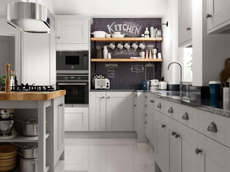 Milton Grey | Wickes.co.uk | Stylish kitchen, Kitchen ...