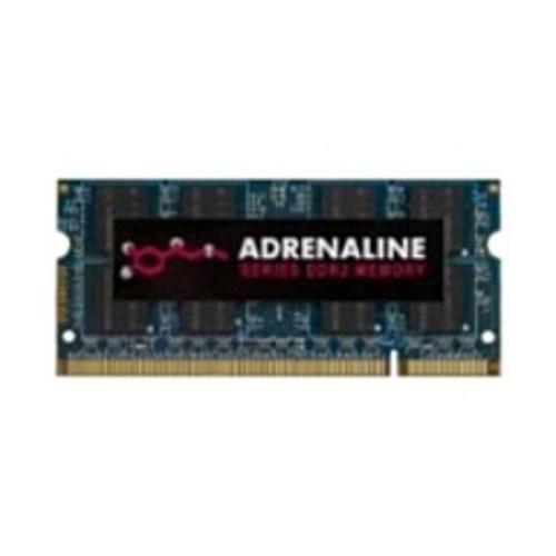 FS Visiontek Adrenaline 4GB DDR2 SDRAM Memory Module - 4 GB (1 x 4 GB) - DDR2 SDRAM - 800 MHz DDR2-800/PC2-6400 - 1.80 V - Non-ECC - Unbuffered - 200-pin - SoDIMM