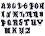 Mini Charm Alphabet