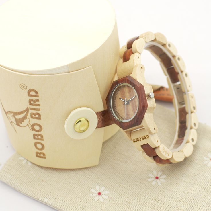 >> Click to Buy << 2017 New Brand BOBO BIRD Women Watches Octagon Wooden Watch Ladies Bracelet Wristwatch relogio feminino B-M26 #Affiliate