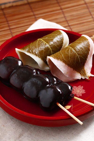 Japanese sweets, wagashi(mochi, dango)秋田県 横手市 かぶきやさんの羊羮団子