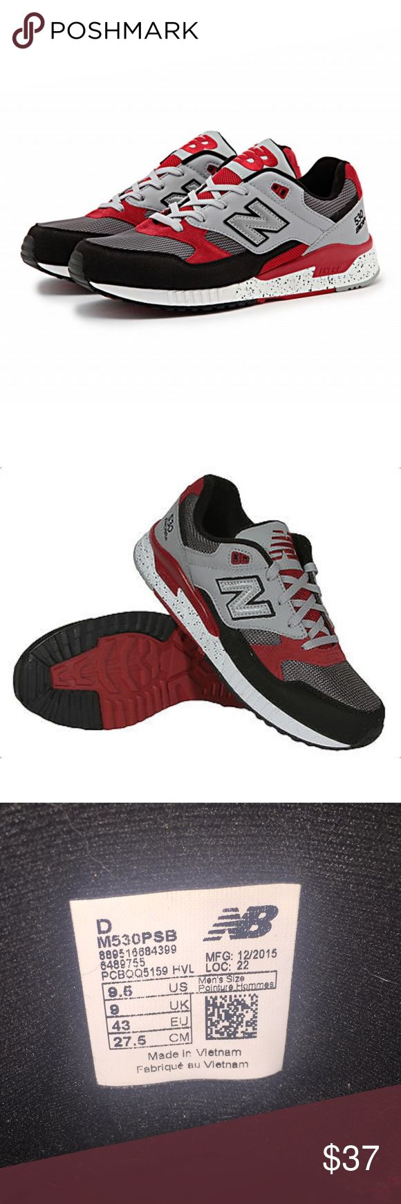 A MANS MUST HAVE -New Balance 530 ENCAP. Size 9.5 Synthetic and mesh upper provides lightweight comfort and support. ABZORB® cushioning in the heel and the ENCAP® midsole provides cushioning and support. Solid rubber outsole supplies traction and durability. New Balance Shoes Athletic Shoes