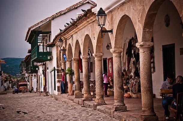 Villa de Leyva is one of the prettiest Colombian villages.