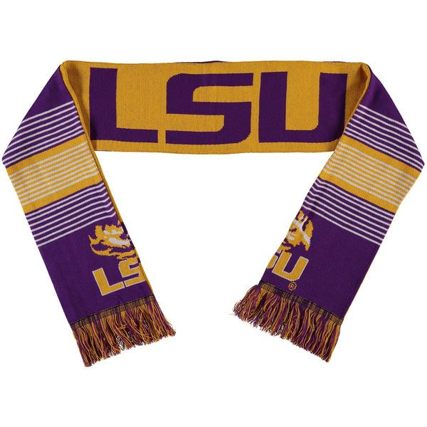 LSU Tigers Split Logo Reversible Scarf - $19.99