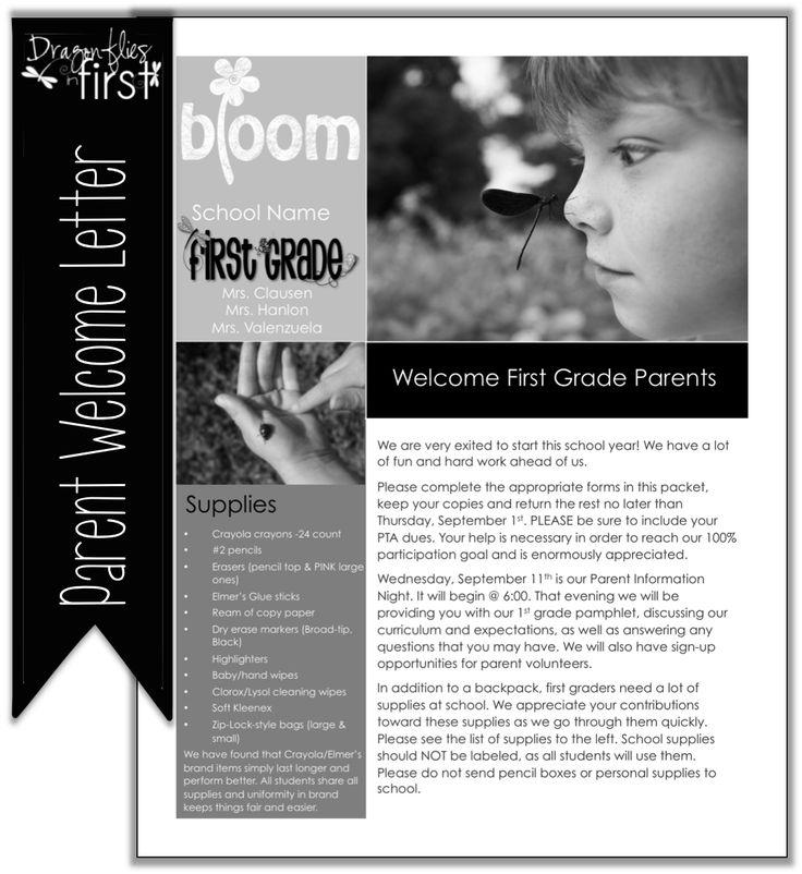 Keeping Parents Informed - Editable FREEBIE