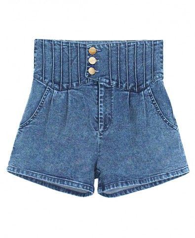 Love these high waist shorts!