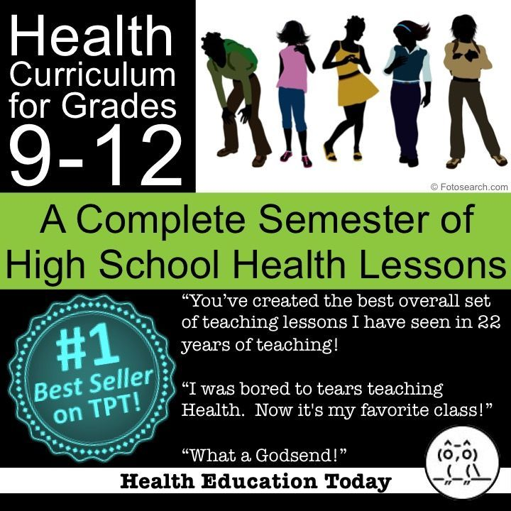 Best Health Lessons For Teens  Middle School Health  High