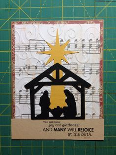 handmade religious christmas cards - Google Search