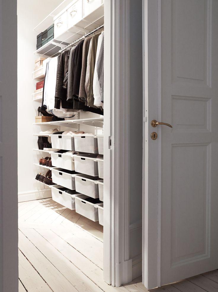 Walk in closet, Elfa system