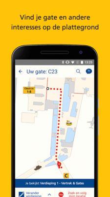 Schiphol lanceert Indoor Wayfinding: De Schiphol App brengt je zorgeloos naar je gate