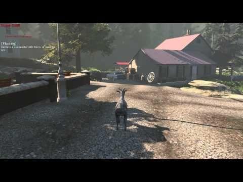 This Goat Simulator Video Game Looks Amazing