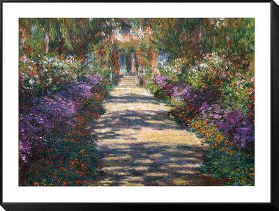 Schilderijen over tuinen (Monet) Schilderijen bij AllPosters.nl
