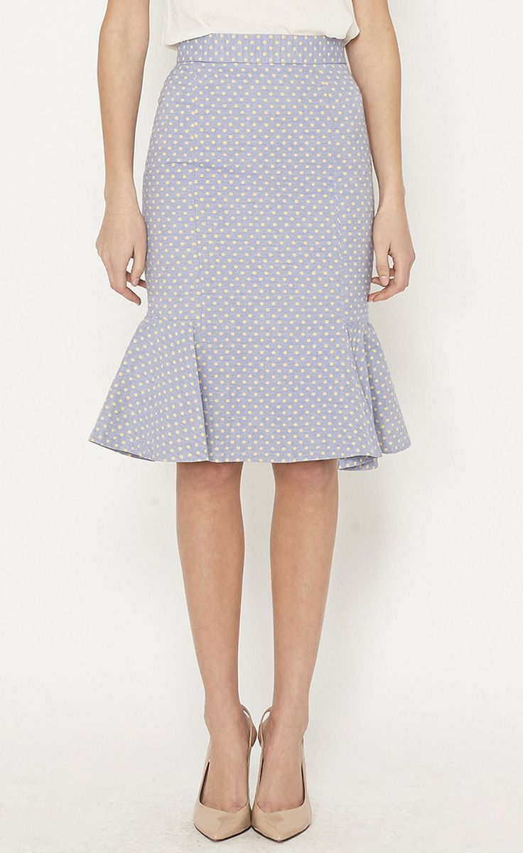 ruffled skirt - Love the shape of this skirt