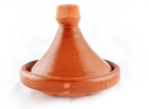 """Beldi Rustic Tagine by MoroccanMart. $35.00. Clay cooking tagine. Beldi style; rustic look. Safe for cooking or serving. Adds an exotic accent to your kitchen or to your table. Makes cooking fun, tasty and authentic Moroccan Foodsafe tagine Recommend Hand Wash Measures: 8""""wide x 7"""" high"""