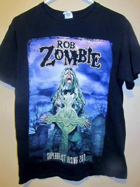 2010 Rob Zombie SuperBeast Rising tour shirt - Adult medium