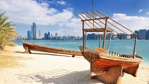 Abu Dhabi i De forente arabiske emirater - en oase i ørkenen. http://travels.kilroy.no/destinasjoner/midtosten/forente-arabiske-emirater/abu-dhabi