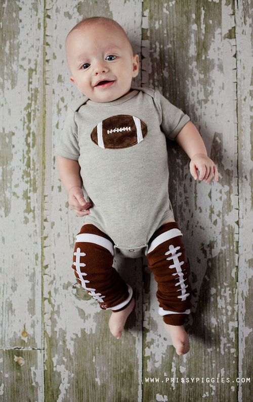 Football Bodysuit-januzzi, onesy, football, sports, trendy, baby boutqiue, boy, baby shower gift