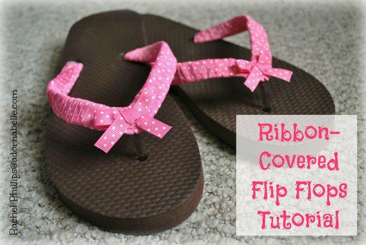 178 best flip flops images on pinterest flip flops for Flip flops for crafts