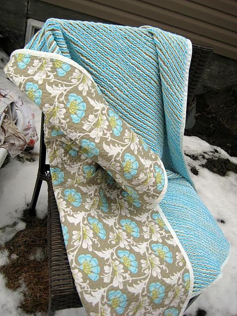 chenille-i love this blanket!