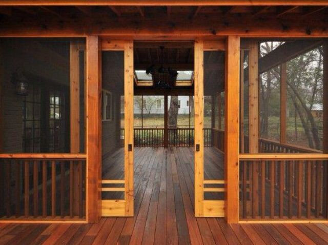 craftsman sliding screen porch panels innovative inc general contractors atlanta via houzz replace swing out screen porch door