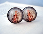 Chicago Cufflinks - Silver - Polaroid Photo - Great for Weddings, Groomsmen, Father of the Bride, Dad, Best Man, Dudes