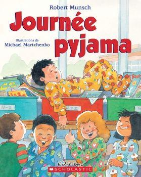 Apprendre à lire est un jeu d'enfant avec les ensembles livre et CD de la collection Raconte-moi une histoire. Ils permettent aux jeunes apprentis lecteurs d'écouter leurs histoires préférées tout en ayant le texte et les images sous les yeux.  C'est la journée pyjama à l'école et celui d'Andrew est tout troué. Andrew et son papa vont donc magasiner et trouvent le pyjama parfait. Le lendemain, Andrew l'enfile et s'endort immédiatement...