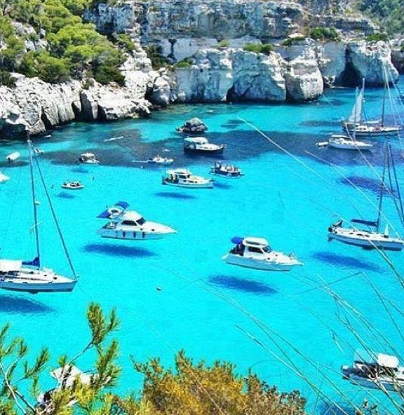 Cala de Mallorca, Islas Baleares. Spain....