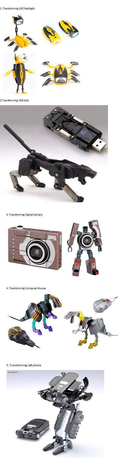 Convierte todos tus objetos tecnológicos en un Transformer.