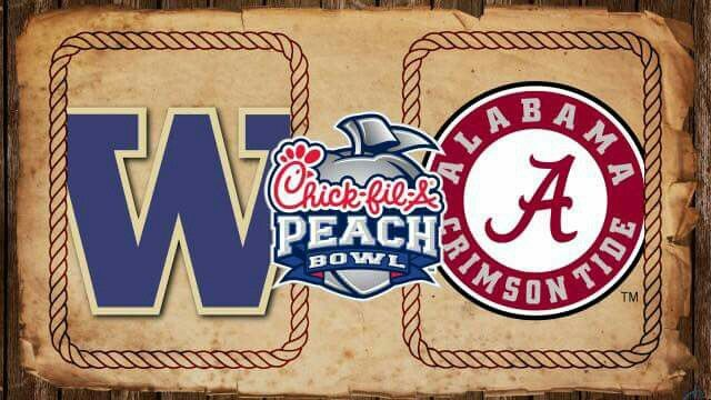 Peach Bowl Alabama Football