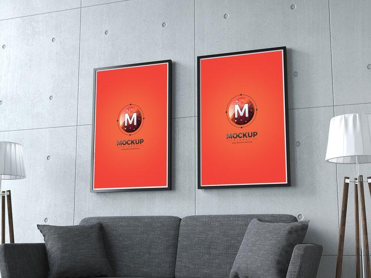 Home-Interior-Photo-Frames-Mockup