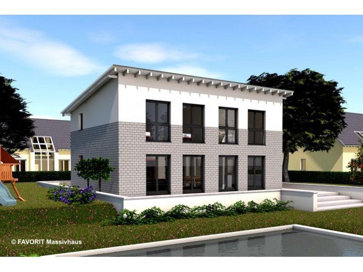 Einfamilienhaus modern pultdach  7 besten Albert Haus Einfamilienhaus mit Pultdach modern und mit ...
