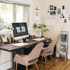 Home Office para duas pessoas