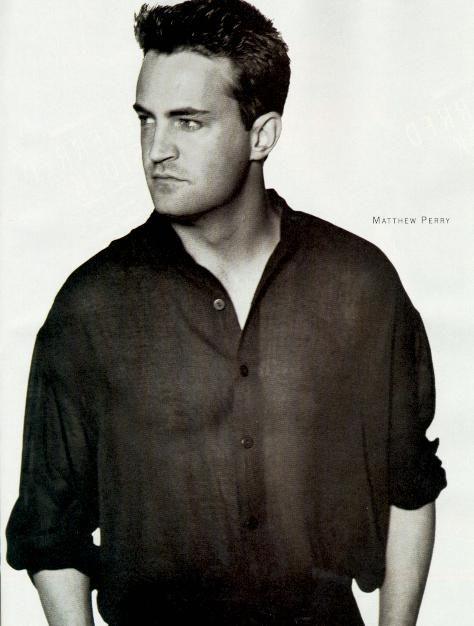 Matthew Perry - will always be a place in my heart for Chandler Bing xx