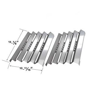 Grillpartszone- Grill Parts Store Canada - Get BBQ Parts,Grill Parts Canada: Fiesta Heat Plate | Replacement 2 Pack Stainless S...