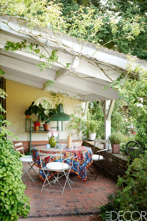20 pretty patio and porch decor ideas to decorate your home's outdoor area for summer: