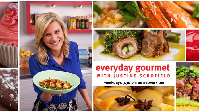 We've got an all new season of Everyday Gourmet with Justine coming your way!  Make sure you tune in to Channel Ten at 3.30pm, starting Monday 22nd April