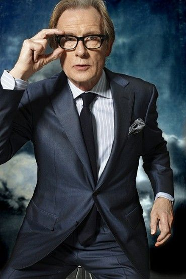 Bill Nighy photographed at Iris Studios wearing Ermenegildo Zegna, 2010.