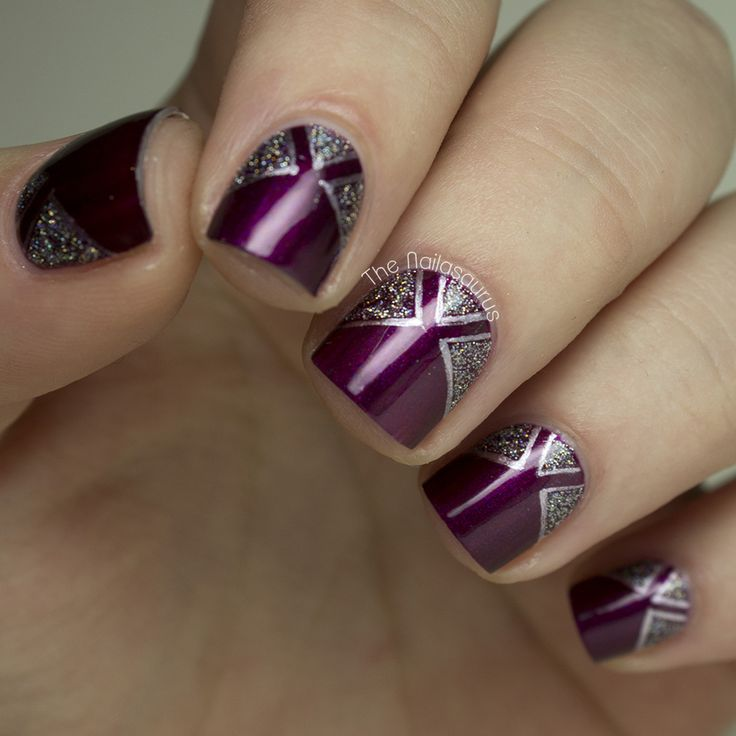 Nail Art Ideas For 2014 Latest Nail Art Trends 2014 Images Simple
